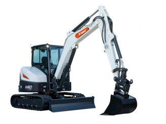 escavatore bobcat e60 r2