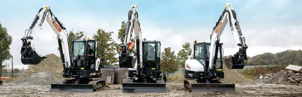 nuova gamma escavatori bobcat